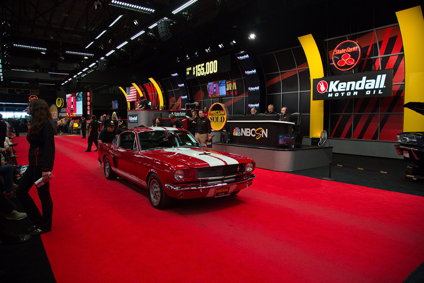 Kendall Named the Official Motor Oil of Mecum Auctions.