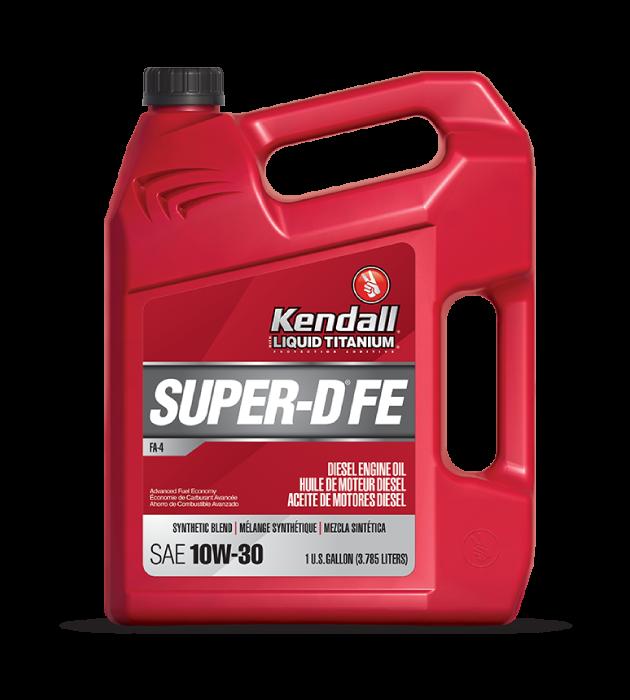 SUPER-D® FEDIESEL ENGINE OIL WITH LIQUID TITANIUM®